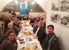 Σύλλογος Καρκινοπαθών και Φίλων Κυκλάδων : διοργάνωση γεύματος για τους εκπροσώπους των ΜΜΕ