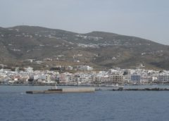 Ακυβερνησία σκάφους στην Τήνο