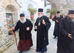 Ποιμαντική επίσκεψη Δωρόθεου Β' στις Ιερές Μονές της Άνδρου