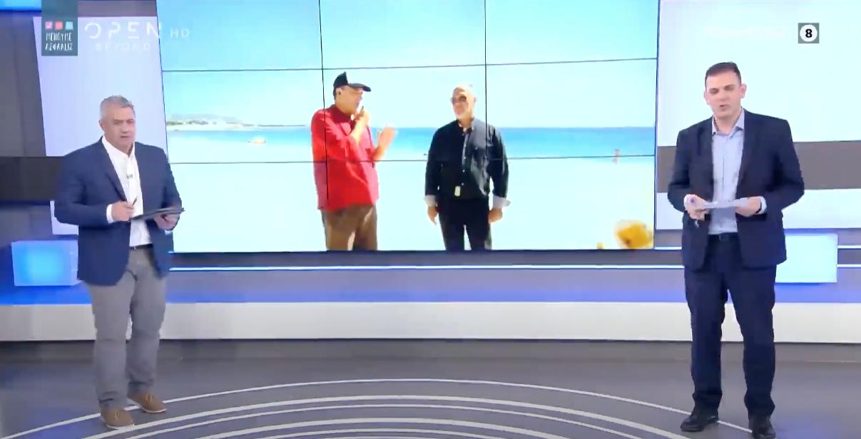 Συνεχίζεται η διαφήμιση της Νάξου σε μεγάλα κανάλια – Καπούνης και Κάβουρας στο «Open Ελλάδα» (βίντεο)