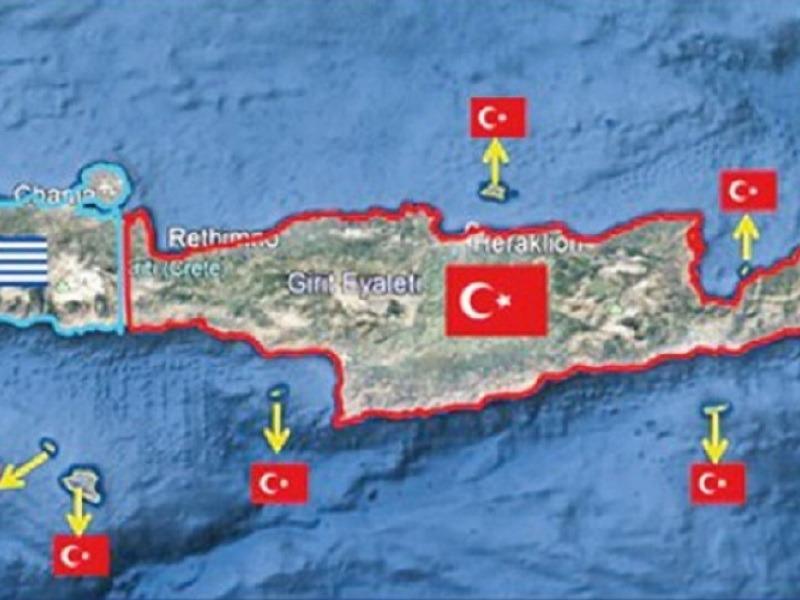 """Στη Χάγη προσφεύγουν 100 τουρκικές ΜΚΟ για την """"επιστροφή"""" της Κρήτης"""
