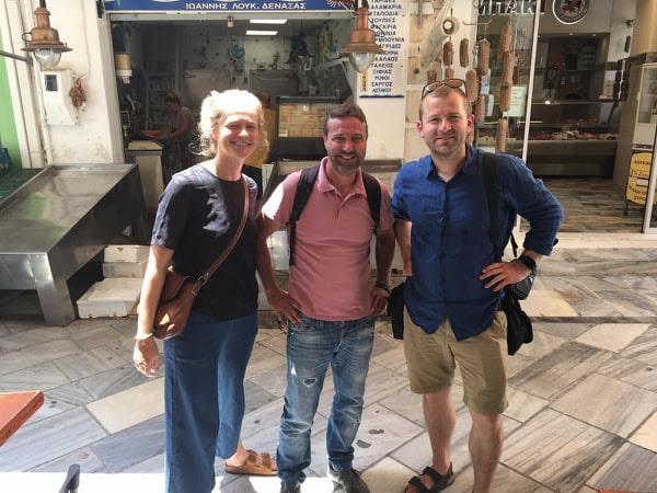Δανοί δημοσιογράφοι στη Σύρο