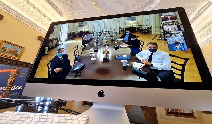 Σε τηλεδιάσκεψη υπό τον Πρωθυπουργό ο Περιφερειάρχης